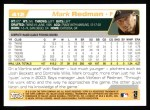 2004 Topps #412  Mark Redman  Back Thumbnail