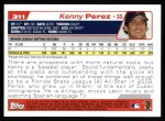 2004 Topps #311   -  Kenny Perez First Year Back Thumbnail