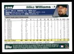 2004 Topps #598  Mike Williams  Back Thumbnail