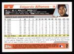 2004 Topps #4  Edgardo Alfonzo  Back Thumbnail