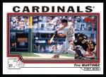 2004 Topps #186  Tino Martinez  Front Thumbnail