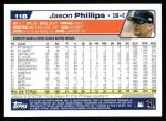 2004 Topps #118  Jason Phillips  Back Thumbnail