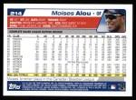 2004 Topps #214  Moises Alou  Back Thumbnail