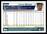 2004 Topps #524  Jamie Moyer  Back Thumbnail