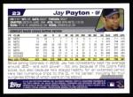 2004 Topps #23  Jay Payton  Back Thumbnail