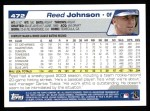2004 Topps #472  Reed Johnson  Back Thumbnail