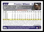 2004 Topps #217  Preston Wilson  Back Thumbnail