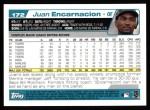 2004 Topps #172  Juan Encarnacion  Back Thumbnail