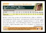 2004 Topps #669  Bradley Sullivan  Back Thumbnail