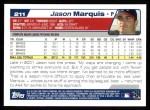 2004 Topps #211  Jason Marquis  Back Thumbnail