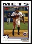 2004 Topps #520  Jose Reyes  Front Thumbnail