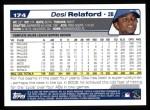 2004 Topps #174  Desi Relaford  Back Thumbnail