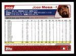 2004 Topps #202  Jose Mesa  Back Thumbnail