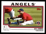 2004 Topps #124  Eric Owens  Front Thumbnail
