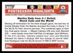 2004 Topps #351  Josh Beckett / Miguel Cabrera / Ivan Rodriguez  Back Thumbnail