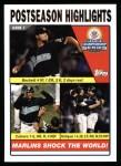 2004 Topps #351  Josh Beckett / Miguel Cabrera / Ivan Rodriguez  Front Thumbnail