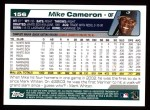 2004 Topps #156  Mike Cameron  Back Thumbnail