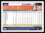2004 Topps #94  Al Leiter  Back Thumbnail