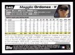 2004 Topps #540  Magglio Ordonez  Back Thumbnail