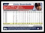 2004 Topps #177  Eddie Guardado  Back Thumbnail