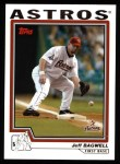 2004 Topps #438  Jeff Bagwell  Front Thumbnail