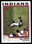 2004 Topps #86  Matt Lawton  Front Thumbnail