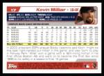 2004 Topps #17  Kevin Millar  Back Thumbnail