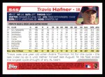 2004 Topps #545  Travis Hafner  Back Thumbnail