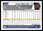 2004 Topps #173  Angel Berroa  Back Thumbnail