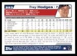 2004 Topps #553  Trey Hodges  Back Thumbnail
