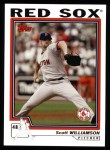 2004 Topps #454  Scott Williamson  Front Thumbnail