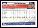 2004 Topps #465  Joey Eischen  Back Thumbnail