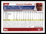 2004 Topps #59  Vicente Padilla  Back Thumbnail
