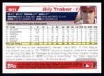 2004 Topps #511  Billy Traber  Back Thumbnail