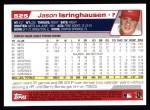 2004 Topps #525  Jason Isringhausen  Back Thumbnail