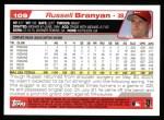 2004 Topps #109  Russell Branyan  Back Thumbnail