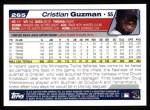 2004 Topps #265  Cristian Guzman  Back Thumbnail