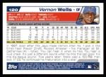 2004 Topps #120  Vernon Wells  Back Thumbnail
