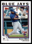 2004 Topps #120  Vernon Wells  Front Thumbnail
