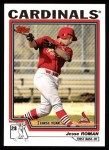 2004 Topps #307   -  Jesse Roman First Year Front Thumbnail