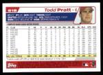 2004 Topps #618  Todd Pratt  Back Thumbnail