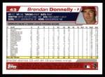 2004 Topps #43  Brendan Donnelly  Back Thumbnail