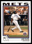 2004 Topps #66  Cliff Floyd  Front Thumbnail
