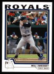 2004 Topps #410  Mike Sweeney  Front Thumbnail