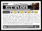 2004 Topps #366   -  Frank Thomas All-Star Back Thumbnail