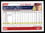 2004 Topps #609  Josh Bard  Back Thumbnail
