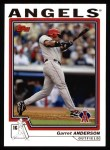2004 Topps #430  Garret Anderson  Front Thumbnail