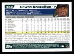 2004 Topps #392  Dewon Brazelton  Back Thumbnail