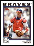 2004 Topps #78  Javy Lopez  Front Thumbnail