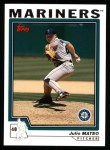 2004 Topps #448  Julio Mateo  Front Thumbnail